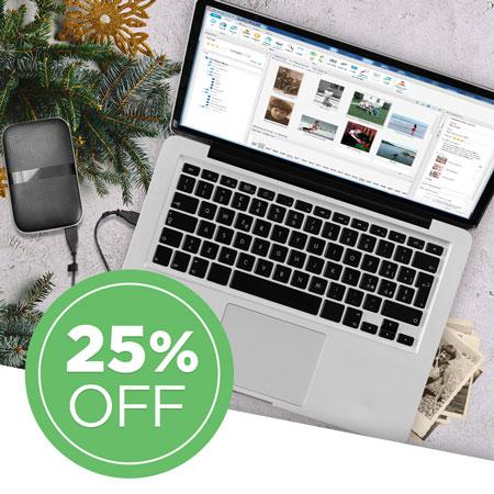 Save 25% on FOREVER Historian™ software!
