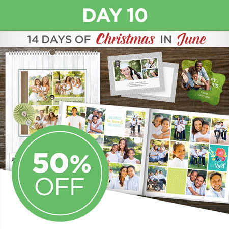 Save 50% on all FOREVER Print and Artisan printed products!