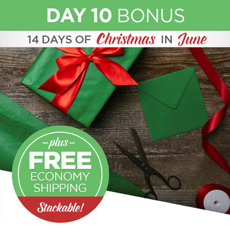 AND score free US/CAN Economy Shipping on Print Shop orders over $49!