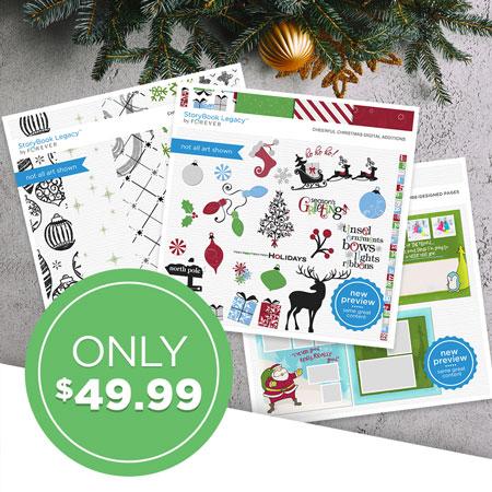 $49.99 StoryBook Legacy™ Holiday Cheer Bundle!