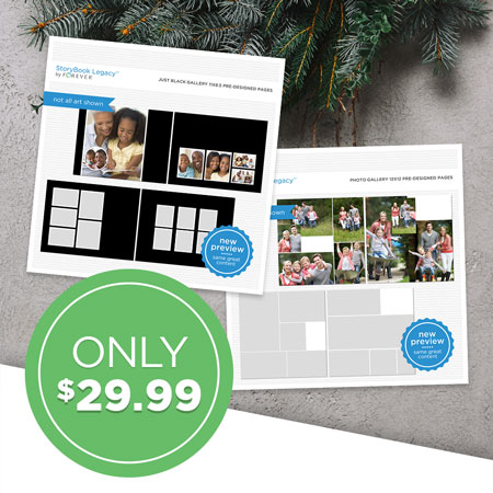 $29.99 StoryBook Legacy™ Photo Gallery Bundle!