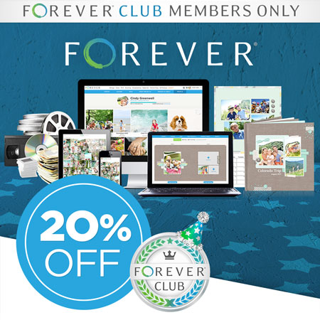 FOREVER Club Members: Save 20% on ALMOST EVERYTHING in July!