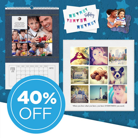 Save 40% on all FOREVER Print and Artisan printed products!