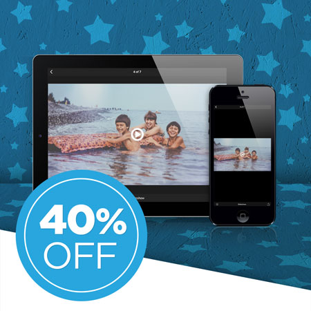 Save 40% on a FOREVER Permanent Premium Video single payment!