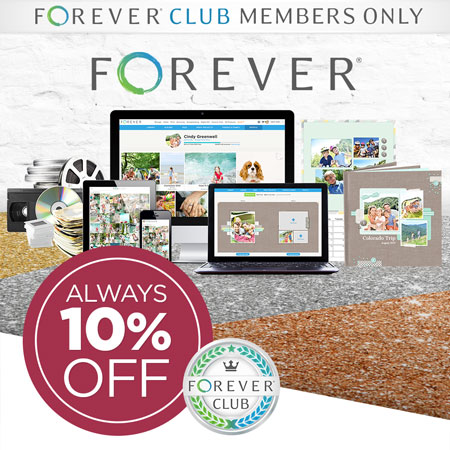 Join FOREVER Club to SAVE 10% on almost EVERYTHING!