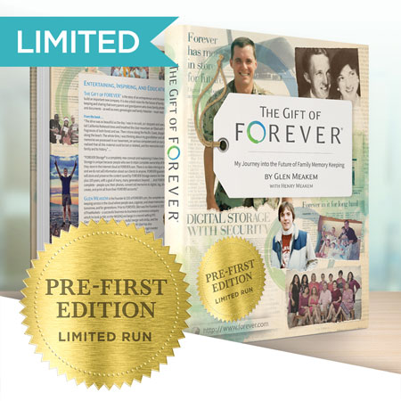 "Secure your signed copy of ""The Gift of FOREVER"" by Glen Meakem!"