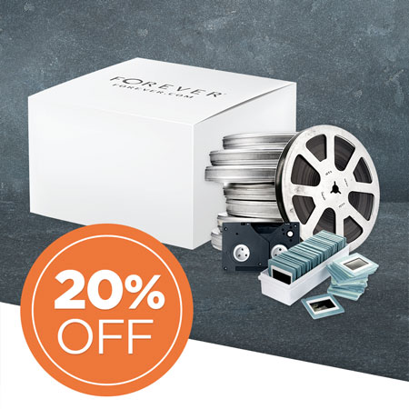 Save 20% on media conversion boxes!