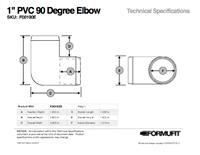 1 in. 3-Way Elbow TSD