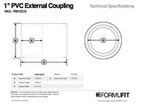 1 in. External Coupling TSD
