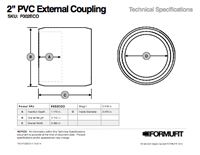 2 in. External Coupling TSD