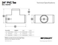 1/2 in. PVC Tee TSD