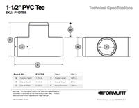1 in. PVC Tee TSD