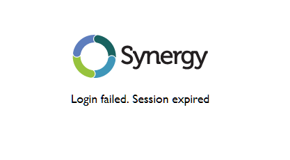 synergy login failed.PNG