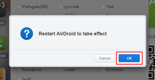 how to change language on mac air