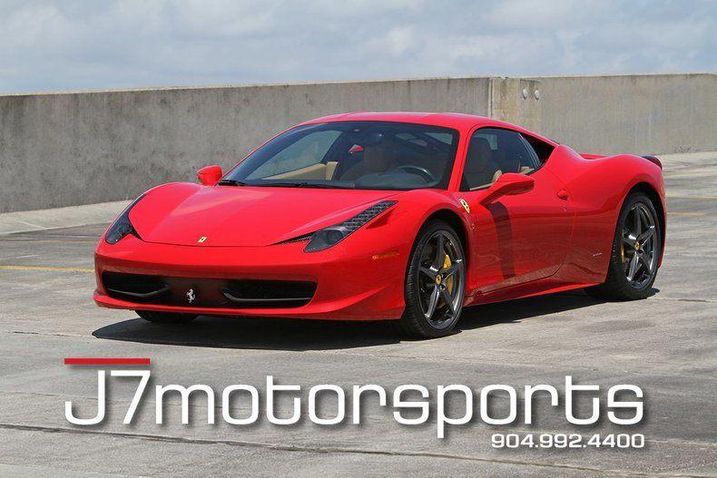 2011 458 Italia 2dr Cpe 2dr Cpe picture #1