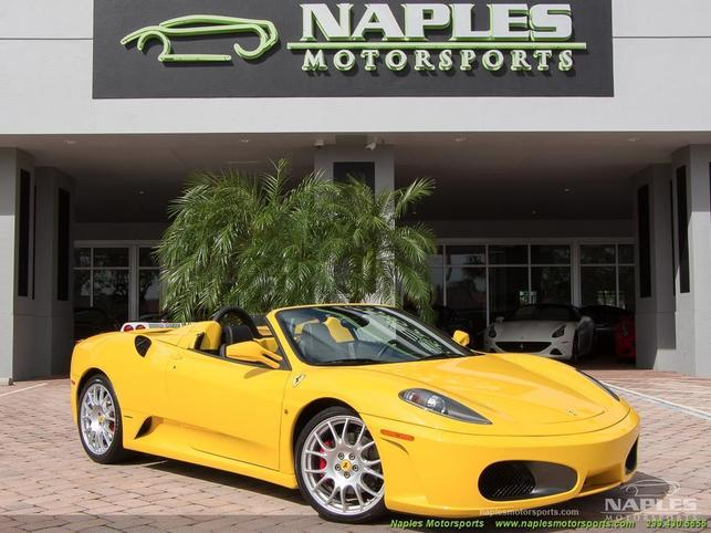 2007 f430 spider convertible