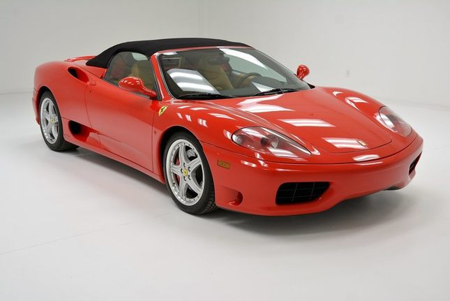 2001 ferrari 360 spider in morgantown pa listed on 02. Black Bedroom Furniture Sets. Home Design Ideas