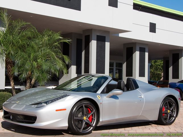 2013 458 spider convertible