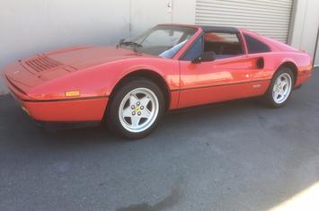 1986 328 gts convertible