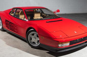 1986 Testarossa $159,995 1986 Testarossa