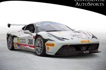 2015 458 challenge race car