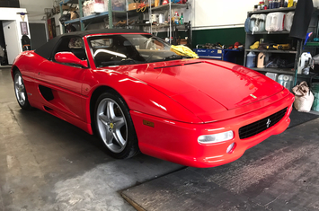 1998 f355 spider convertible