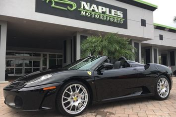 2008 f430 spider convertible