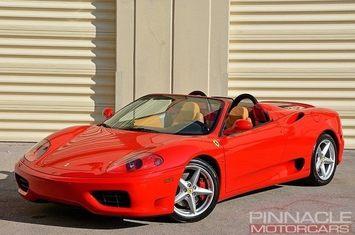2003 ferrari 360 spider f1