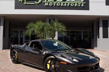 2011 458 italia coupe