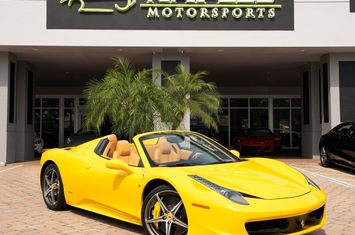 2014 458 spider convertible