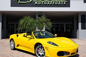 2005 f430 spider convertible
