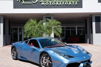 2015 458 speciale coupe