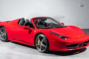 2012 458 italia 2dr convertible