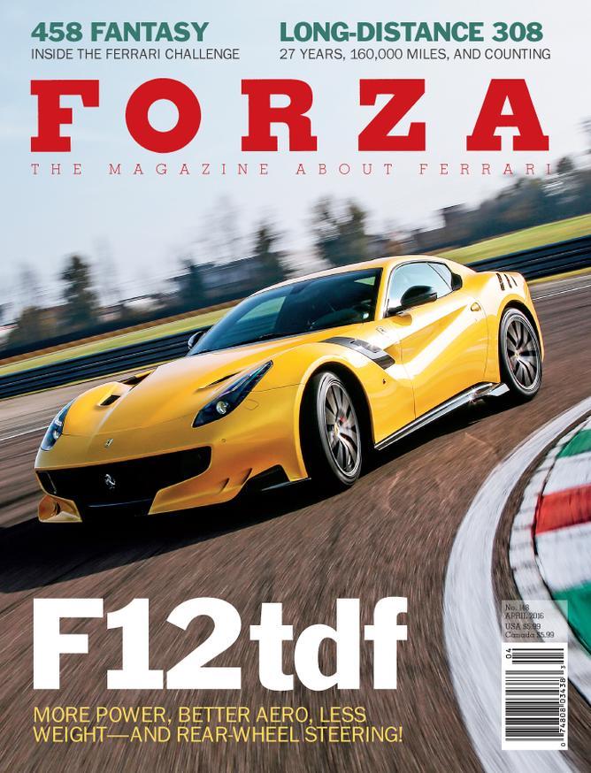 . Issue 148   April 2016   Forza   The Magazine About Ferrari