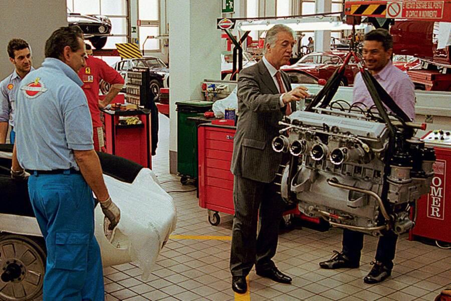 Piero on Ferrari  2