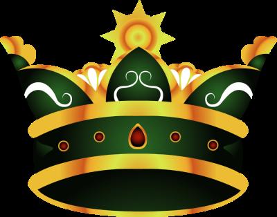 King crown clip art blue - photo#26