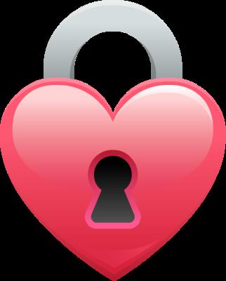 Go Back &gt Gallery For Heart Lock Clip Art