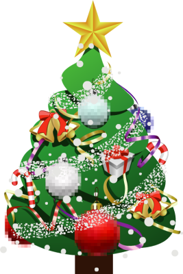 267 x 400 png 107kB, Christmas Tree With Presents Clip Art | New ...
