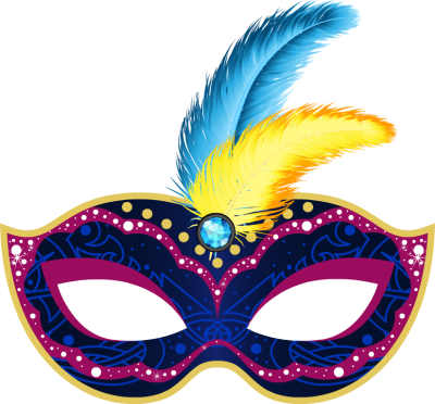 Blue Mardi Gras Mask - Free Clip Arts Online | Fotor Photo Editor