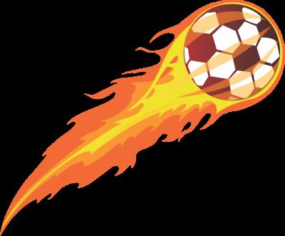 Flaming soccer ball free clip arts online fotor photo editor