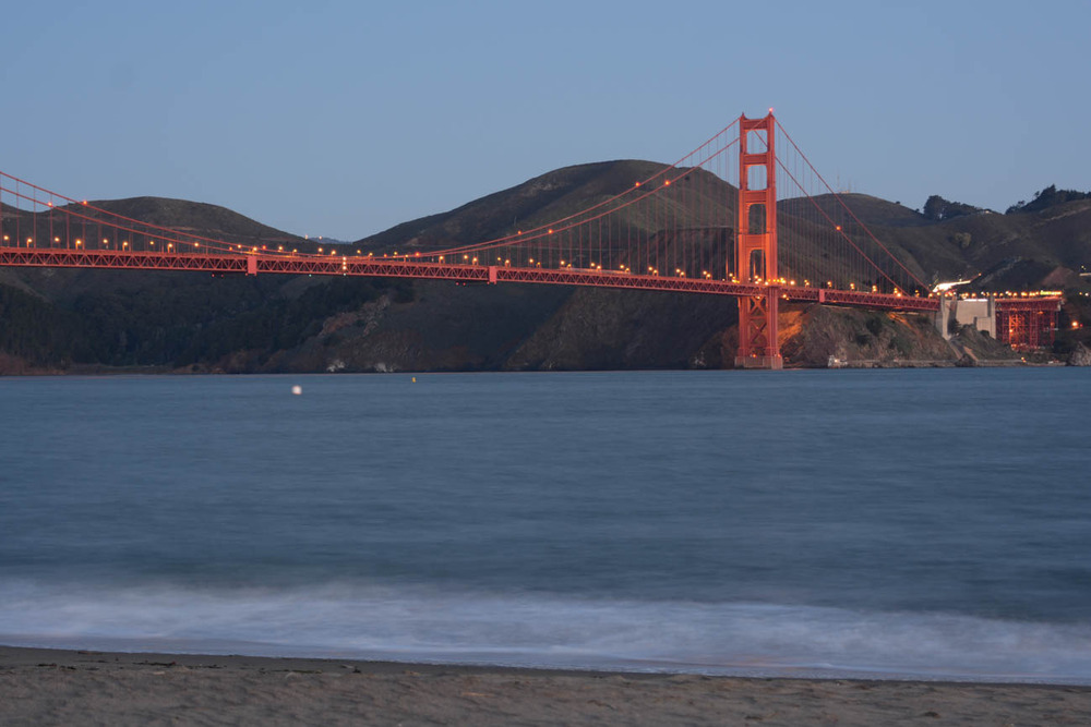 Golden Gate Bridge in the morning