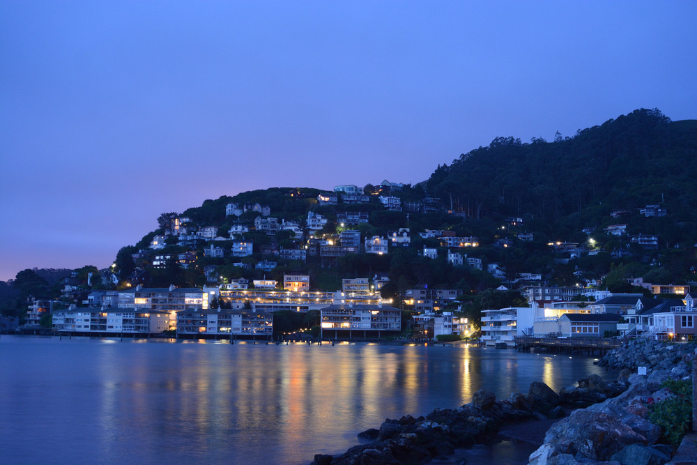 Sausalito in the early morning