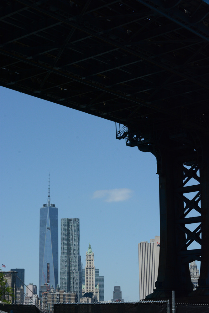Downtown New York from DUMBO