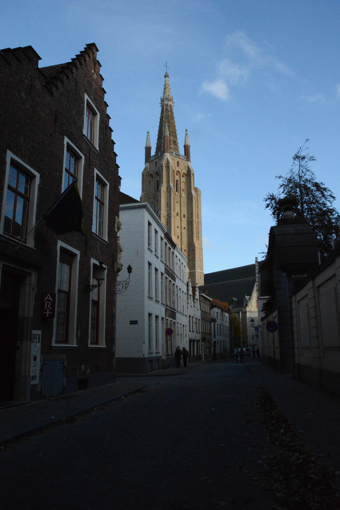 Cathedral in Bruges
