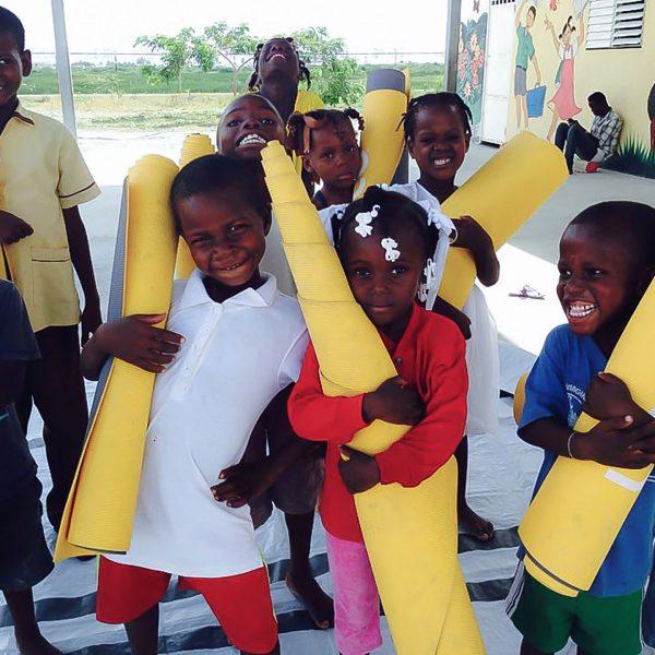 Wellness partnership in Haiti