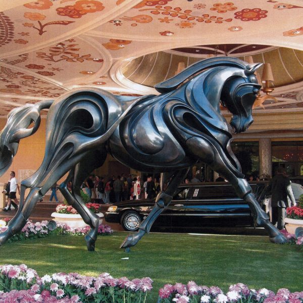 Dressage Horse at the Wynn Hotel in Las Vegas