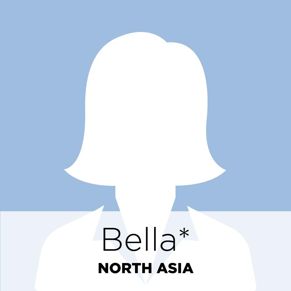 Bella, North Asia