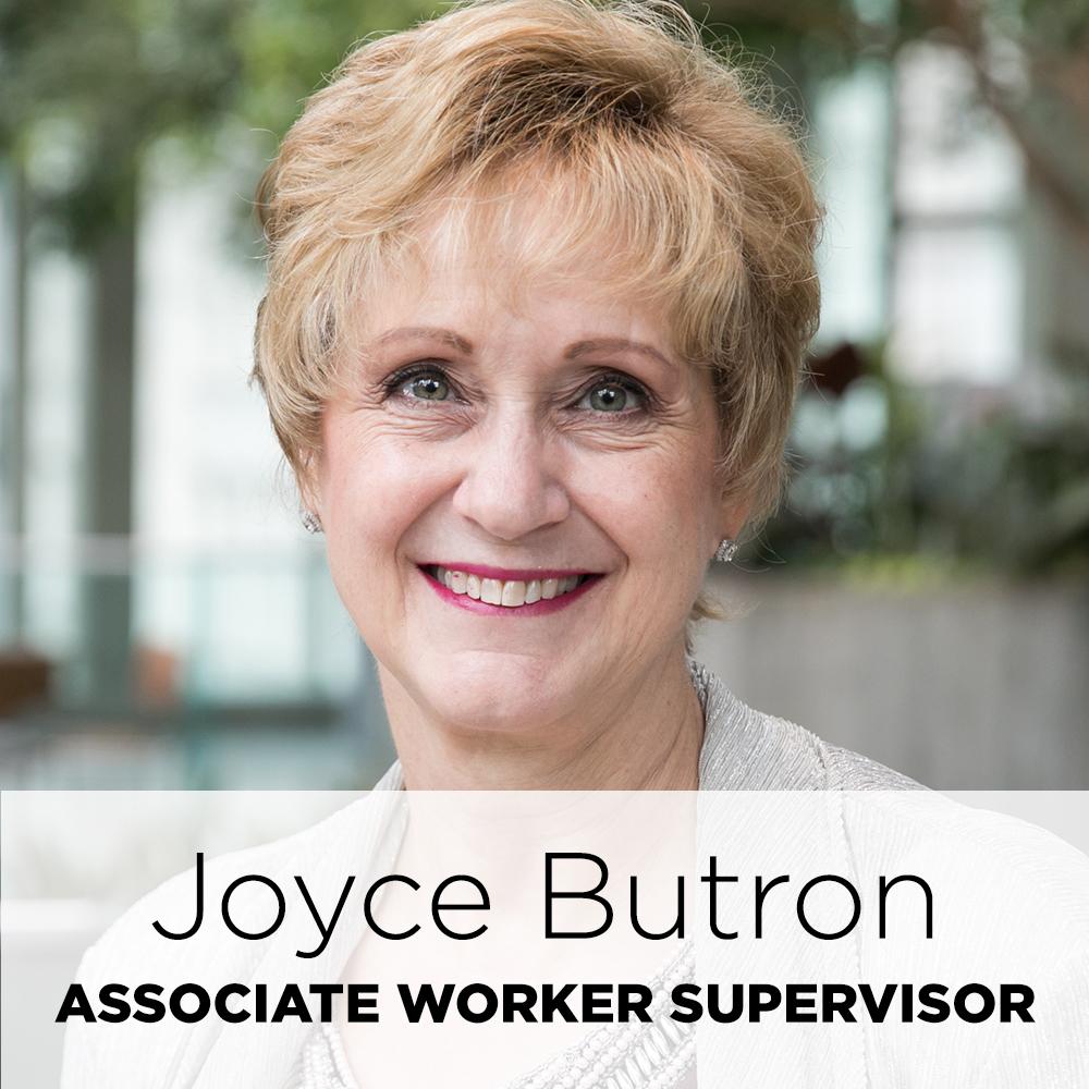 Joyce Butron, associate worker supervisor
