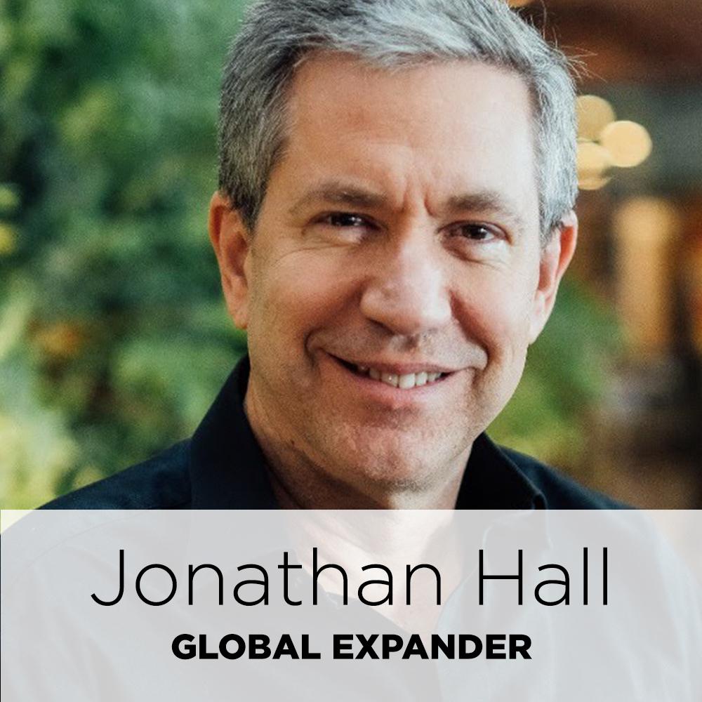 Jonathan Hall, global expander