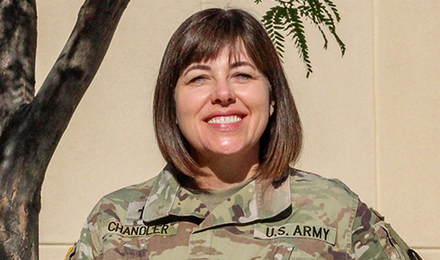 Maj. Leslie Chandler